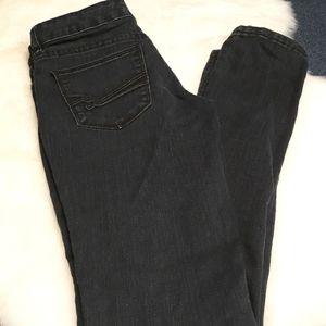 The Limited 917 dark denim skinny womens jeans